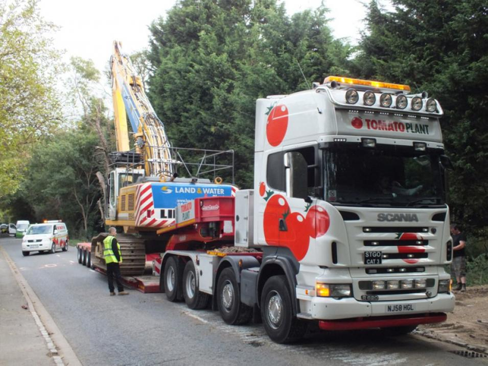 Tomato Plant | Plant Division, 4 Axle Arctic to 86T | Iver, Buckinghamshire & London large 4