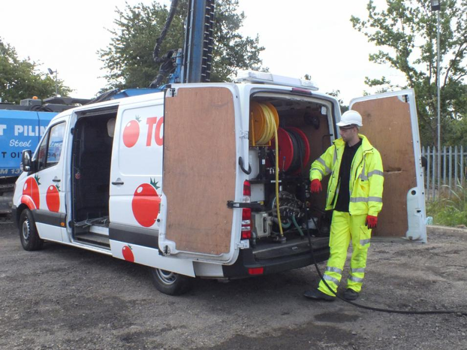 Tomato Plant | Drainage & CCTV Division, Jetting Van Unit | Iver, Buckinghamshire & London large 1