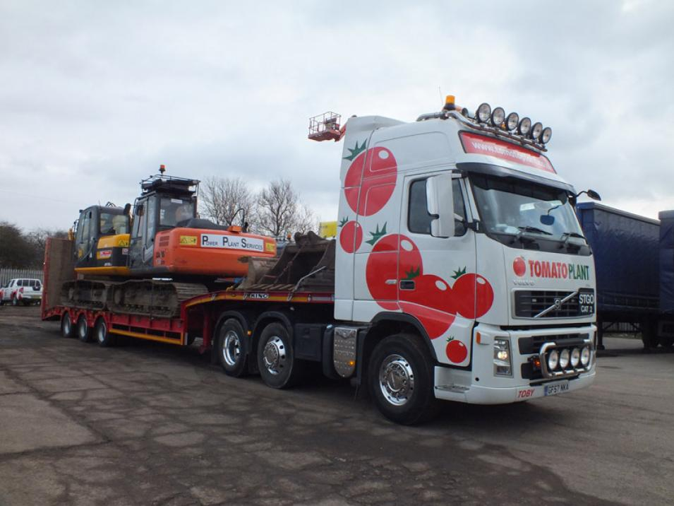 Tomato Plant | Plant Division, 3 Axle Arctic to 35T | Iver, Buckinghamshire & London large 4