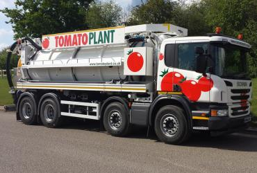 Tomato Plant | Tanker Division, 2000 gallon 4 axle recycler | Iver, Buckinghamshire & London image 3
