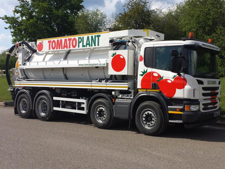 Tomato Plant | Tanker Division, 2000 gallon 4 axle recycler | Iver, Buckinghamshire & London large 3