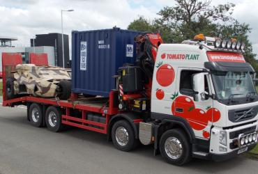 Tomato Plant | Plant Division, Self Loading Rigid to 12T | Iver, Buckinghamshire & London image 1