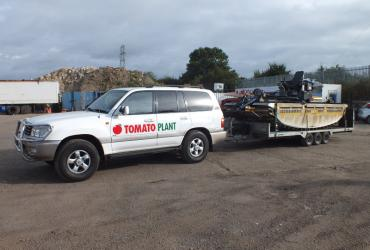 Tomato Plant | Plant Division, 4x4 Towing Vehicles to 3.5T | Iver, Buckinghamshire & London image 1