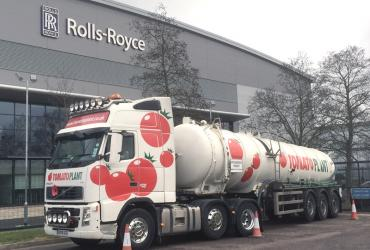 Tomato Plant | Tanker Division, Articulated | Iver, Buckinghamshire & London image 2