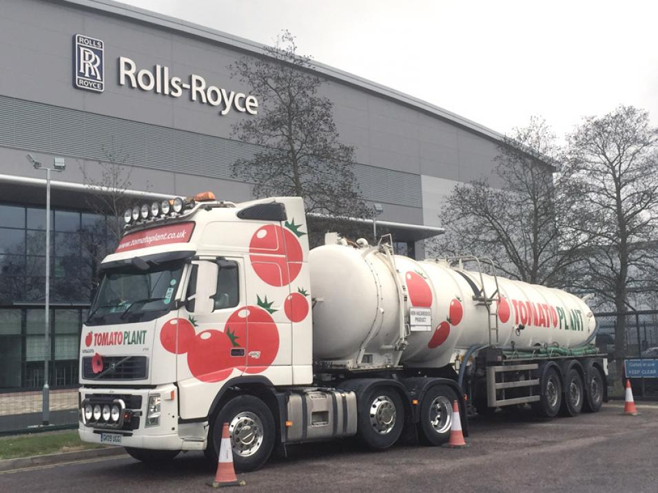 Tomato Plant | Tanker Division, Articulated | Iver, Buckinghamshire & London large 2